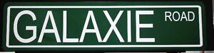 METAL STREET SIGN GALAXIE ROAD FORD XL 500 390 406 TRI-POWER SUPER STOCK 427 428