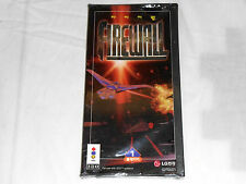 NEW Firewall Panasonic 3DO BRAND NEW SEALED 3d0 Game RARE Fire Wall Korean LG