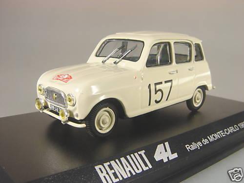 Renault 4 L Ralle Monte Carlo - NOREV 1 43  E  | Attraktives Aussehen