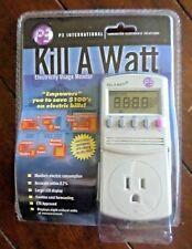 P3 International Kill A Watt Electricity Usage Monitor: Model #4400