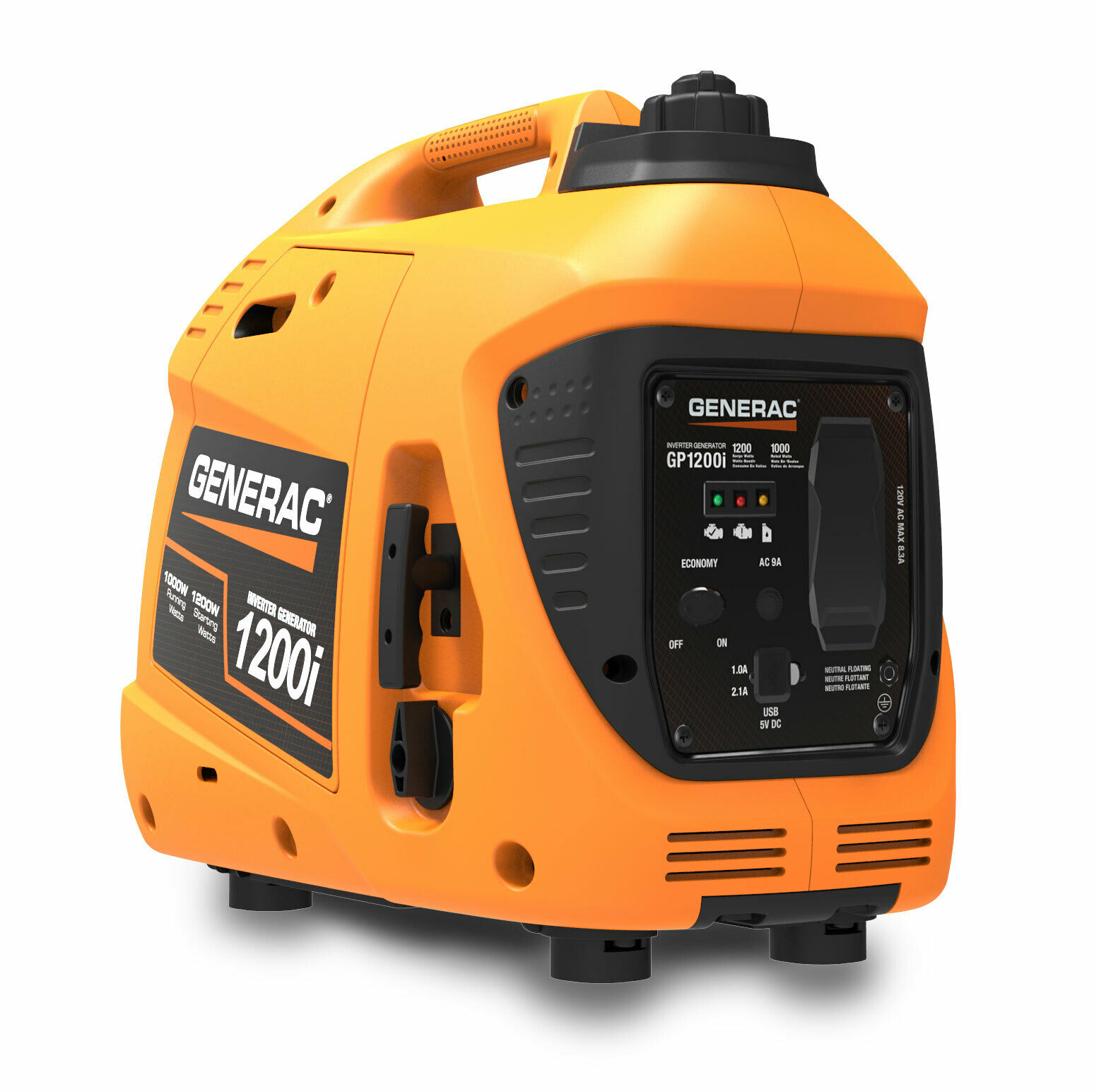 Generac 7671 Gp1200i 1200 Watt Portable Inverter Generator 49 State Csa For Sale Online