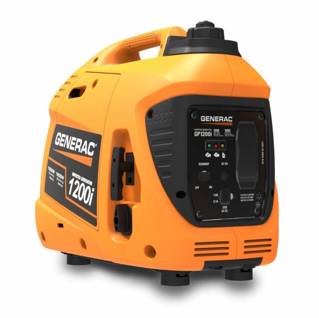 Generac Portable Generator 1200w In Box G0076710 For Sale Online Ebay