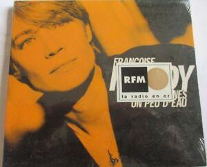 FRANCOISE-HARDY-CD-SINGLE-DIGIPACK-034-LES-MADELEINES-034-JAUNE-NEUF-NEW