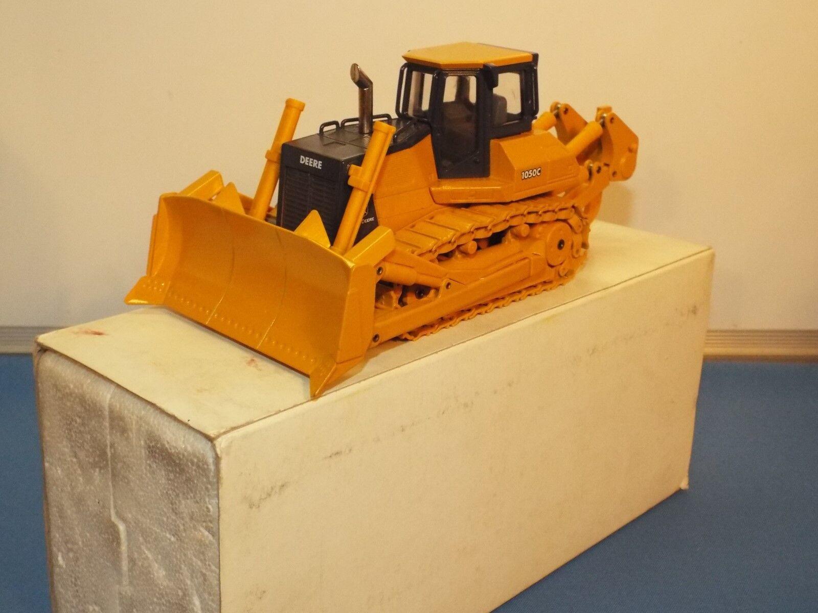 Conrad aucun numéro attribué très rare John Deere 1050 C Acier chenilles Bulldozer VNMB