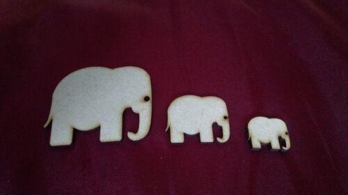 20 X 1 embelishment Elefante De Madera libro de chatarra artesanías elaboración de Tarjetas de 0054 Animal