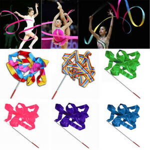 4M Art Gymnastic  Stick Dance Ribbon Ballet Wand Streamer Twirling Rod