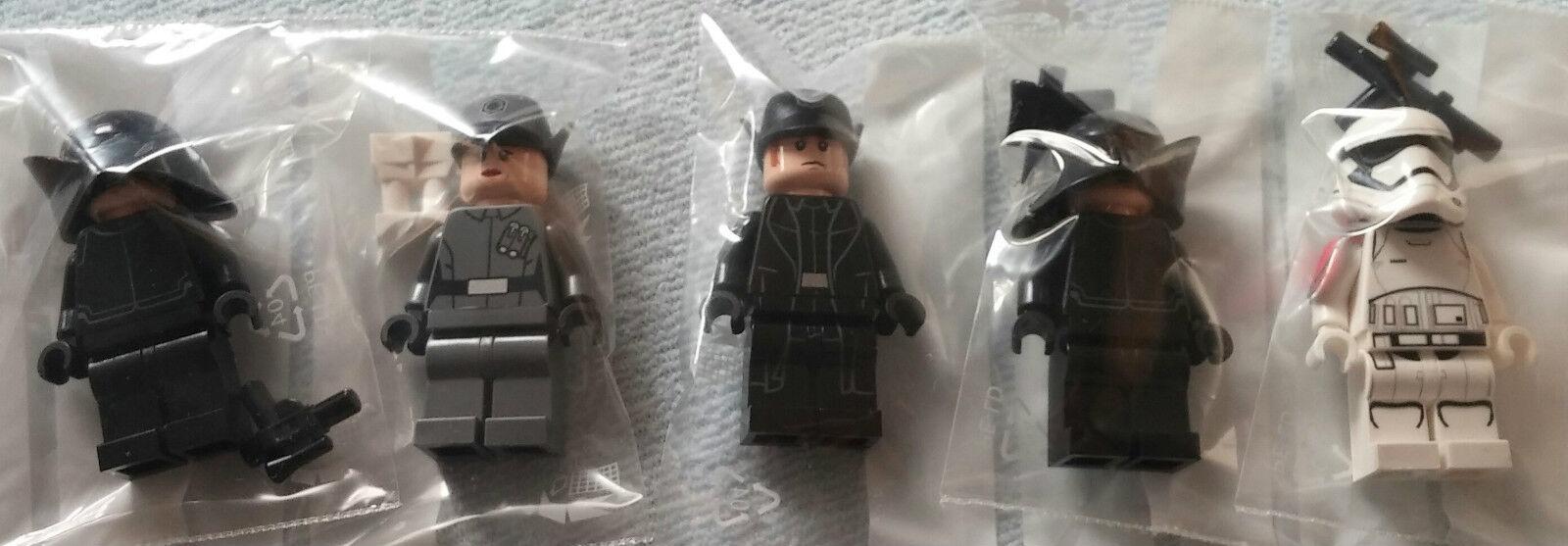 LEGO ® Star Wars ™ 5 personaggi da 75104: first order Stormtrooper/Crew 2x/Officer