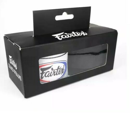 FAIRTEX BOXING - 180 INCHES//4.5M BLACK  - HAND WRAPS -  MUAY THAI NEW!!!!!