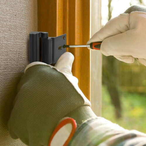 Defender Security Door Reinforcement Lock Add Extra High Security Protector