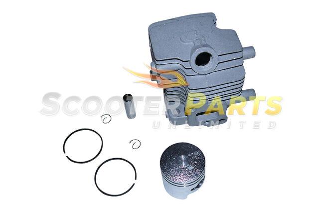 Cylinder Piston Kit Rings Go Ped Big Foot Sport Gas Scooter Zenoah G23LH 23cc