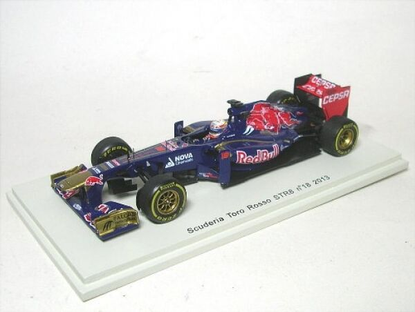 Tor rouge str8 No. 18 Jean-Eric  vergne Formula 1 2013  en soldes