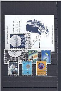 Francobolli-Belgio-Astronautica-MNH