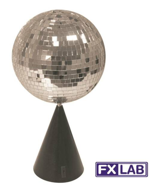 FXLAB 6 Inch Free Standing Ceiling Mounted Disco Party Occasion Mirror Ball Kit
