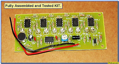 x5 PCB Only for DIY LM3915 Audio LED VU METER USA Sound 10-Level Indicator