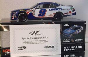 Autographed William Byron 2017 Liberty Unv Darlington Ricky H.Trib 1//24 NASCAR