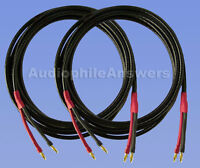 Straightwire Pro Special Sc Speaker Cables 15' Standard Stereo Pair Bananas