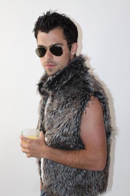 Reversible Faux Fur Vest in 5 colors Unisex