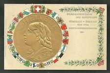 Simplon Tunnel Inauguration Medal Switzerland 1905