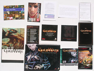 Guild Wars Collectors Edition PC US NTSC avec GameStop Pre-order bonuses RARE-  afficher le titre d'origine - France - État : Comme neuf: Objet semblant avoir été retiré de son film plastique récemment. Aucune marque d'usure apparente. Toutes les faces de l'objet sont impeccables et intactes. Consulter l'annonce du vendeur pour avoir plus de détails et voir - France