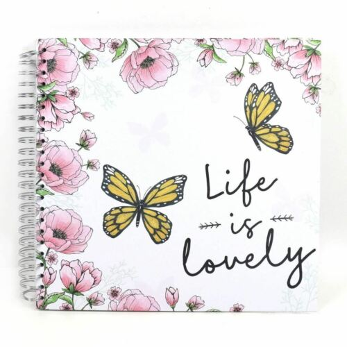 "Simply Creative Scrapbook Craft Memory Photo Album 12x12/"" Life Is Lovely"