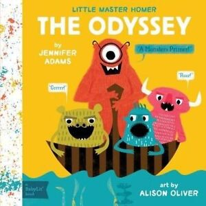 Little-Master-Homer-The-Odyssey-A-Babylit-Monsters-Primer-Adams-Jennifer-N