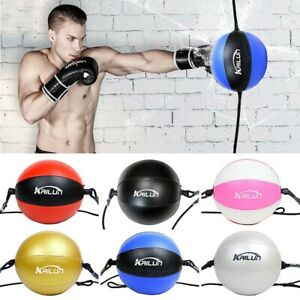 Double End Muay Thai Boxing Punching Bag Speed Ball Punch Training Fitness Ball