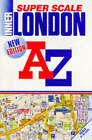 A. to Z. Super Scale Atlas of Inner London: 1m-9 . by Geographers' A-Z Map Company (Paperback, 1998)