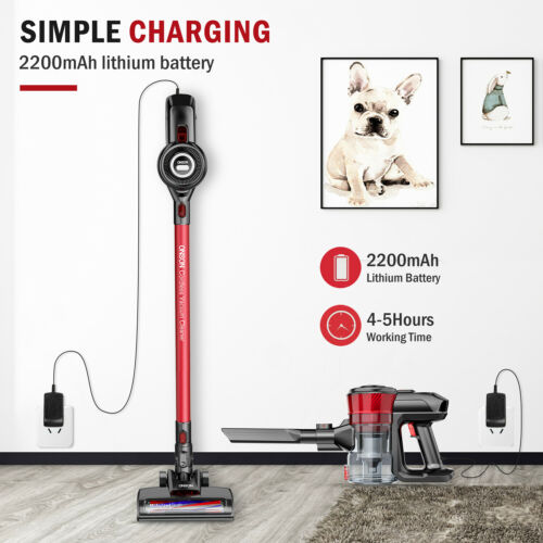 ONSON ordless Vacuum Cleaner 2in1 Handheld Stick Vacuum Cleaner Suction 12000Pa