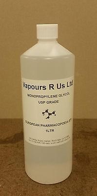 MONOPROPYLENE GLYCOL MPG USP/EP GRADE,  E CIGS