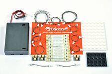 BRICKSTUFF WARM WHITE LED STRIP LIGHTS STARTER KIT FOR LEGO MODELS (TREE01)