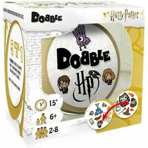 HARRY-POTTER-DOBBLE-CARD-GAME-5-IN-1-GAME-OF-OBSERVATION-amp-QUICK-REFLEXES