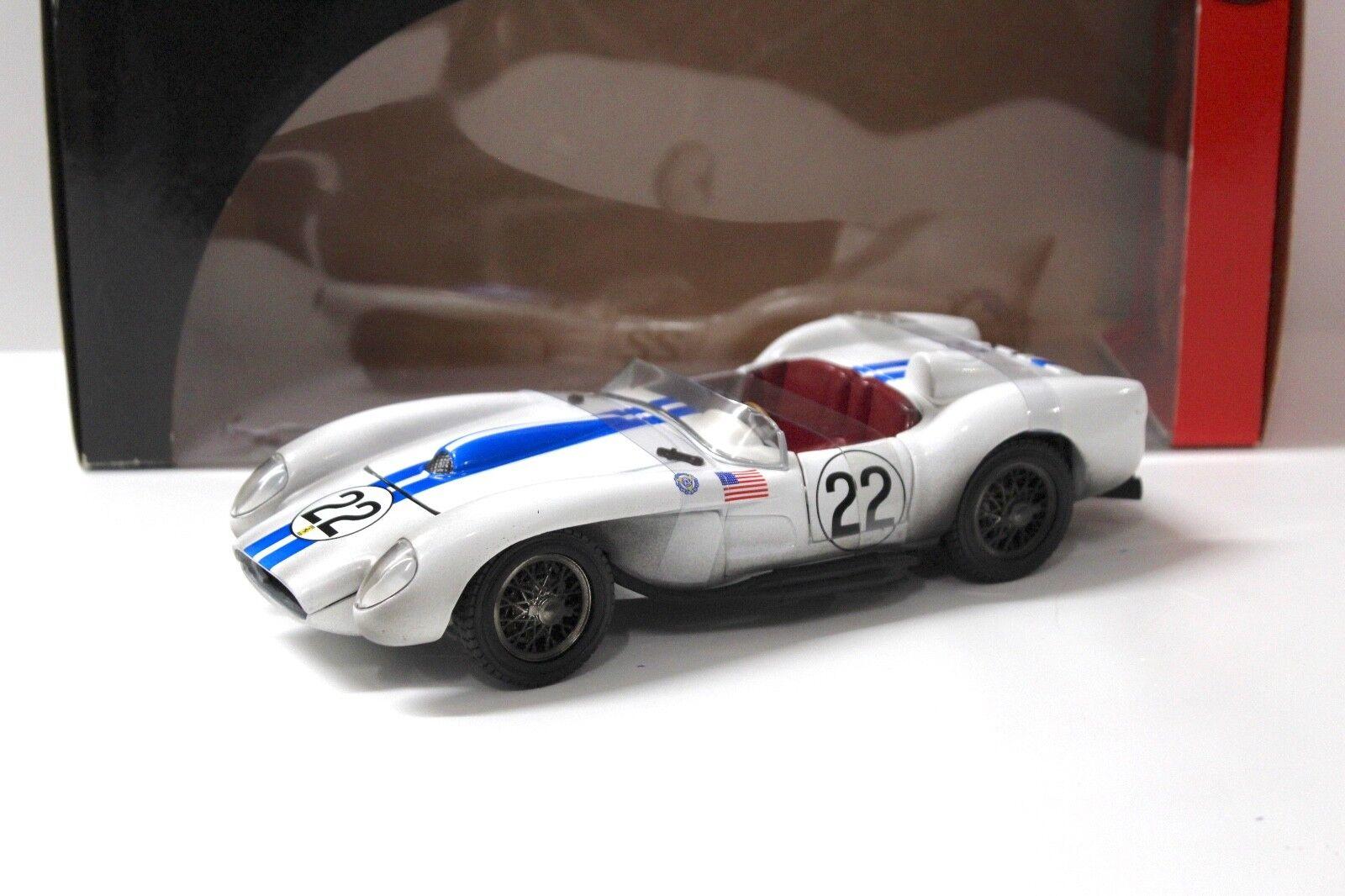 1 18 Hot Wheels Ferrari 250 250 250 Testa Rossa white NEW bei PREMIUM-MODELCARS 8dd1bd