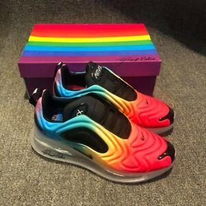 pensamientos sobre gran venta zapatillas Details about NIKE AIR MAX 270 BE TRUE RAINBOW MULTICOLOR SIZE 10.5