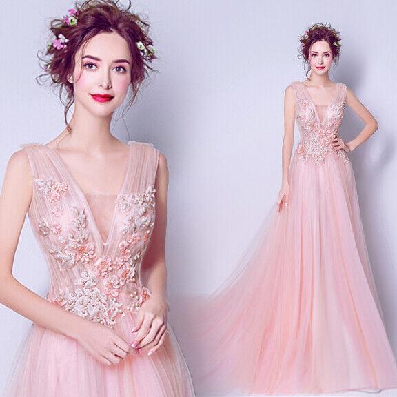 Edel Abendkleider Cocktailkleid Ballkleider Wedding Lang Beaded Kleider TSJY7712