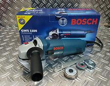 Bosch GWS 1100 Winkelschleifer 125 mm, 1100 Watt + Schnellspannmutter SDS Clic
