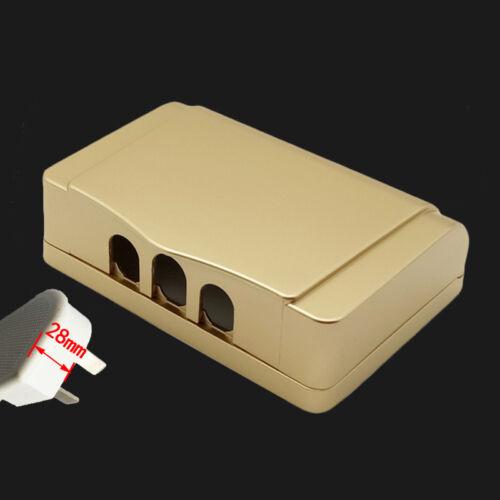 1Pcs Socket Switch champagne double Couvercle Étanche Boîte pour Socket Panneau De Montage