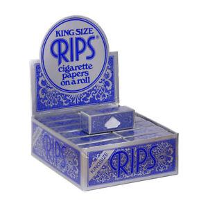 Rips-Azul-Papeles-de-Liar-Cigarrillos-Tamano-King-Size-en-Rollo-5-Rolls