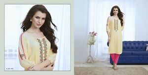 Indian Pakistan Kurti Ethnic Woman Bollywood Designer Dress Tunic 40 42 44 5903