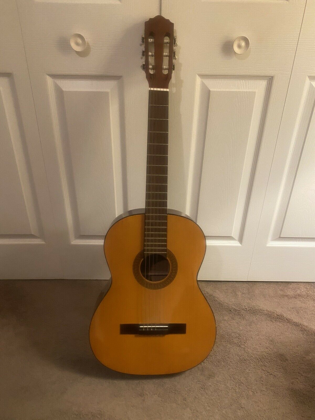 s l1600 - Vintage (1960's) Alvarez Hand Made Classic Guitars Model No 4103 Acoustic Guitar