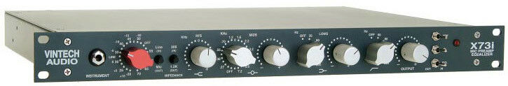 Vintech Audio X73i Microphone Preamp Mic Pre EQ with PSU, 1073 Recreation - NEW