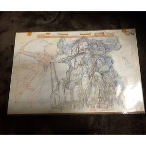 Laputa-Castle-in-the-Sky-Cel-Replica-Art-Studio-Ghibli-Hayao-Miyazaki-Anime-Rare