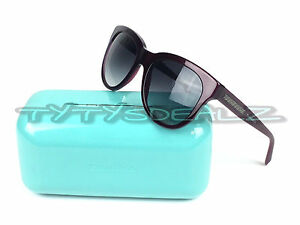 37ffd707550a ✅ TIFFANY   CO. TF4112 8173 3C ATLAS SUNGLASSES DARK PLUM PURPLE ...