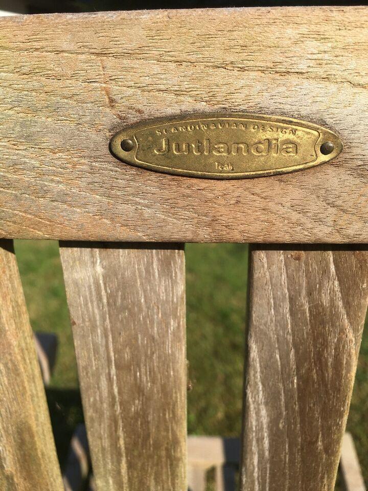 Liggestol, JUTLANDIA, Hård træ