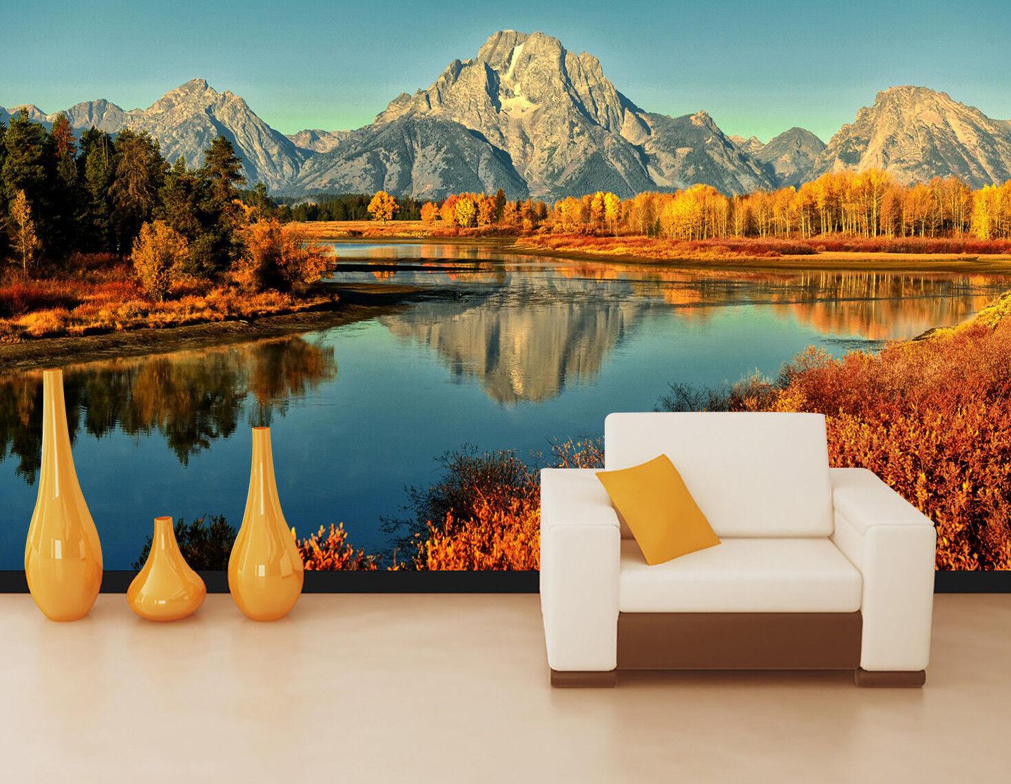 3D Natur Landschaft Landschaft Landschaft Himmel 9829 Tapete Wandgemälde Tapeten Bild Familie DE Lemon | Online einkaufen  | Langfristiger Ruf  |  34a610