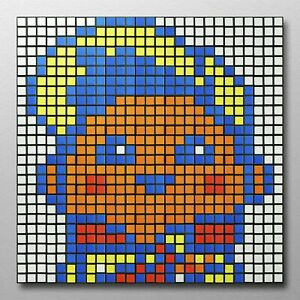 Russell 81 Rubix Cube Mosaic DIY Puzzle Build Your Own ...