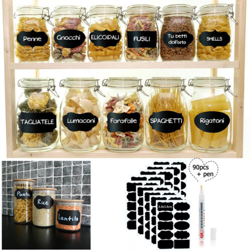 With Pen Stickers Tags Label High quality Blackboard Chalk Board Stickers
