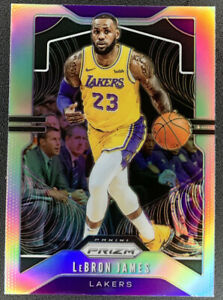 2019-20-Panini-Prizm-LeBron-James-Silver-129-Los-Angeles-Lakers-HOT