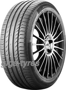 4x-SUMMER-TYRE-Continental-ContiSportContact-5-235-45-R18-98Y-XL-BSW-with-FR