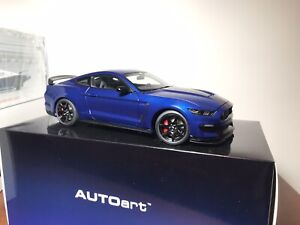 Lightning Blue Mustang >> Details About 1 18 Autoart Ford Shelby Mustang Gt350r Lightning Blue New Mint