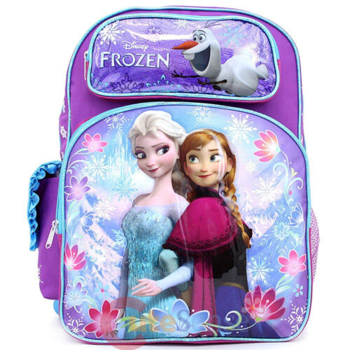 Disney Princess Frozen Anna Elsa & Olaf  16 backpack  2014 Licensed Product